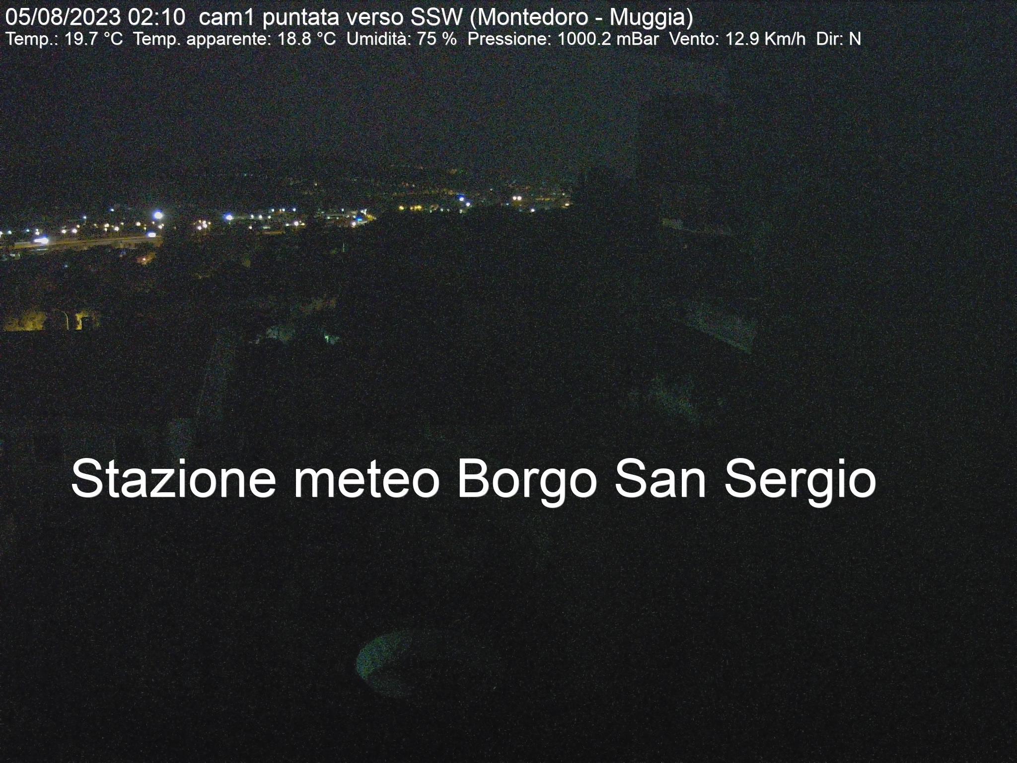 Vista verso Montedoro - Muggia